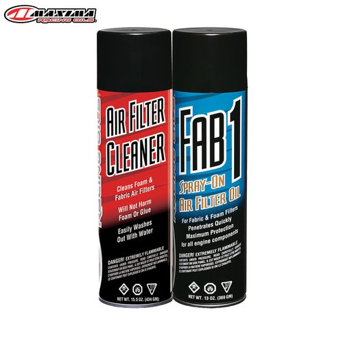 Maxima Filter Aerosol Maintenance Combo Kit2 Pack Air Filter Cleaner - ilter Aerosol Maintenance Combo Kit2 Pack