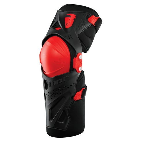 Protección para rodilla Thor Force Xp Knee Guards S16 - Black Red