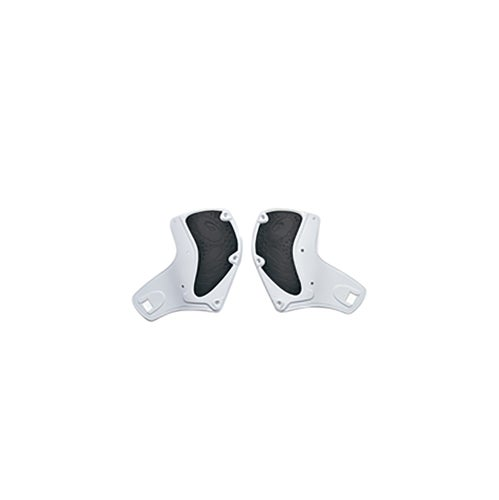 Sidi Crossfire Calf Deflectors Motocross Boot Spares - white