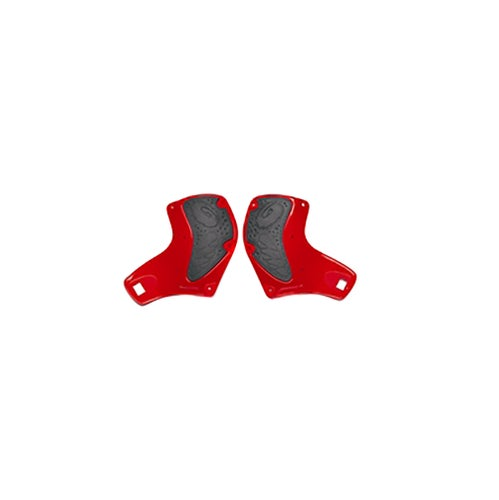 Sidi Crossfire Calf Deflectors Motocross Boot Spares - red