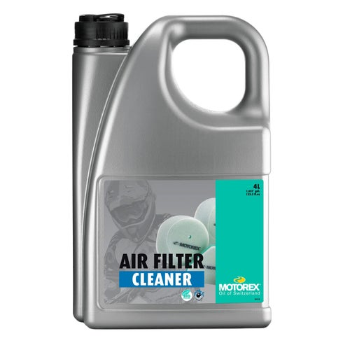 Motorex 4 Litre Air Filter Cleaner - Clear
