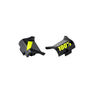 MX Goggle Spares 100 Percent Forecast Canister Cover Kit - Fluo Yellow/black