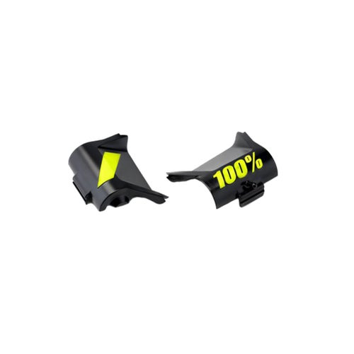 100 Percent Forecast Canister Cover Kit MX Goggle Spares - Fluo Yellow/black