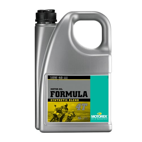 Motorex Formula 4T Semi Synth 10/40 4 Litre Ma Engine Oil - Clear