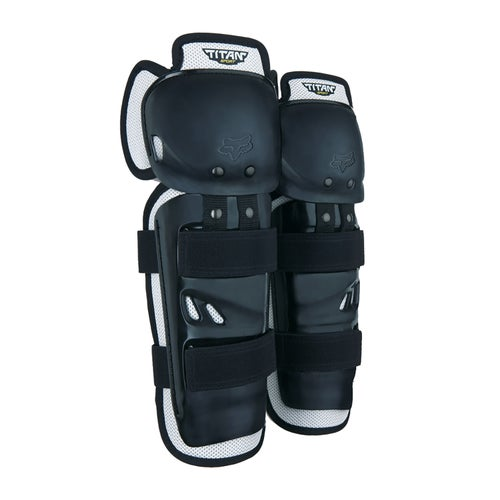 Fox Racing Titan Sport Knee and Shin Protection - Black