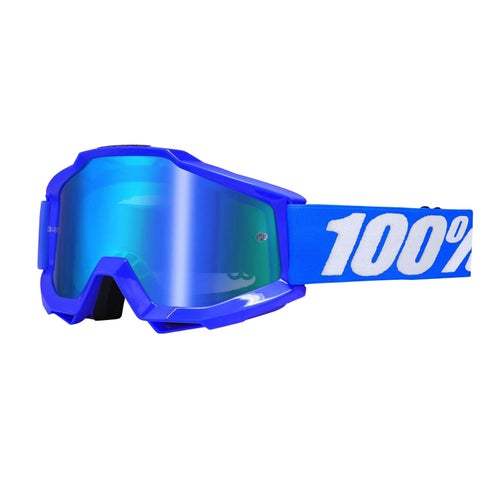100 Percent Accuri MX Brillen - Reflex Blue ~ Mirror Blue Lens