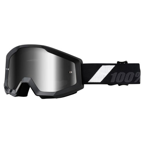 100 Percent Strata YOUTH MX Brillen - Goliath ~ Mirror Silver Lens