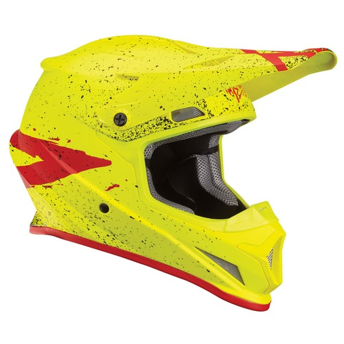 Casco para MX Thor S8s Sector Hype - Acid