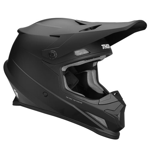 Casco para MX Thor Helmet Sector Matt - Black