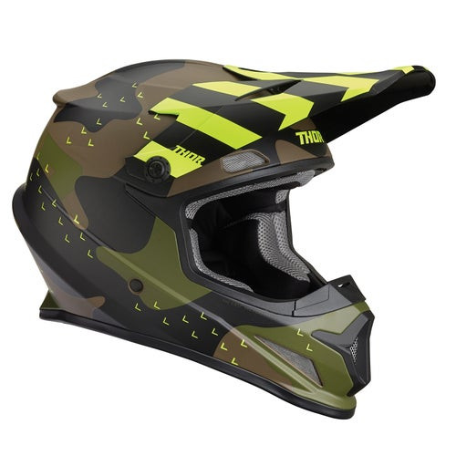 Casco para MX Thor Sector Mosser - Green Camo