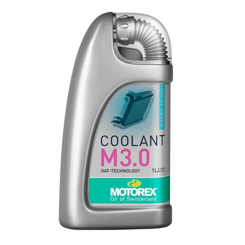 Motorex Motorex Red Pre Mix Oat M3.0 1 Litre Coolant - Red
