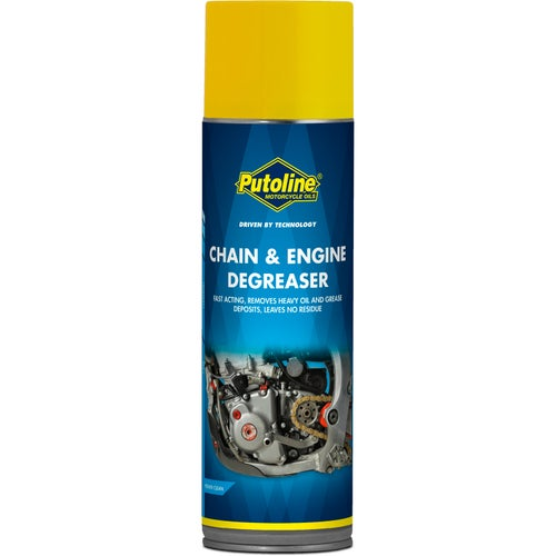 Putoline Chain & Engine Degreaser 500ml Chain & Engine Degreaser - Clear