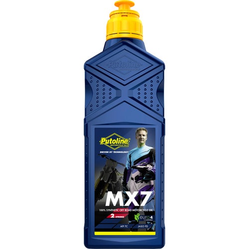 Putoline Mx7 (premiere) 1 Ltr 2 Stroke Oil Mix - Clear