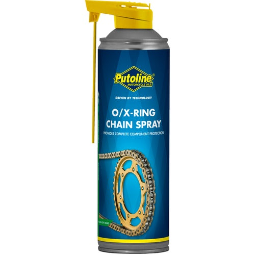 Chain Lube & Cleaning Putoline O/x Ring Chain Lube 500 Ml - Clear