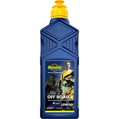Putoline Off Road 4 10w/40 1 Ltr Engine Oil - Clear