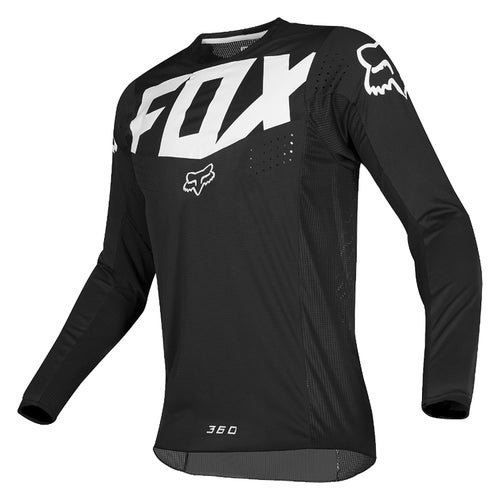 Fox Racing 360 Kila Motocross Jerseys - Blk