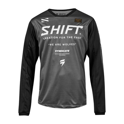 Shift Whit3 Label Muse Enduro MX Jersey - Smoke