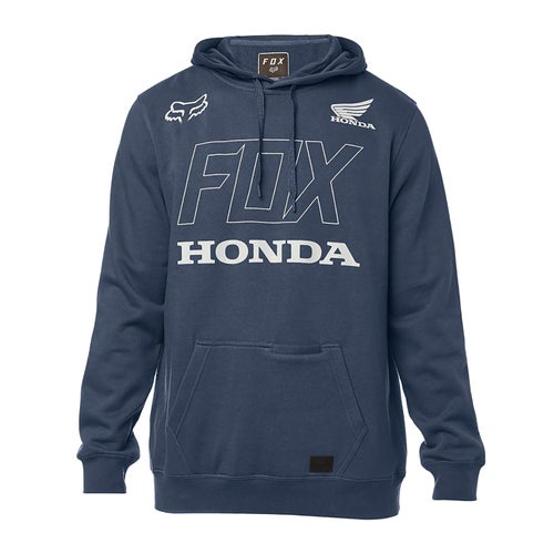 Fox Racing Honda Fleece Pullover Hoody - Navy