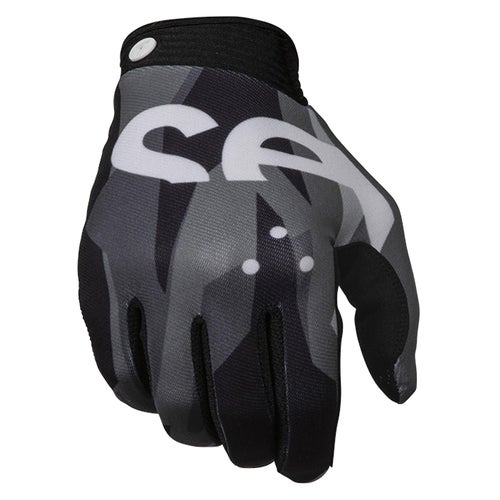 Seven 19.1 Zero Crossover Motocross Gloves - Raider Black Grey