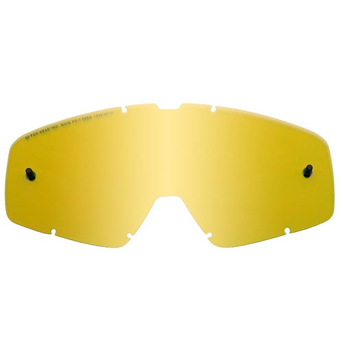 Fox Racing Main Motocross Goggle Lense - Yellow