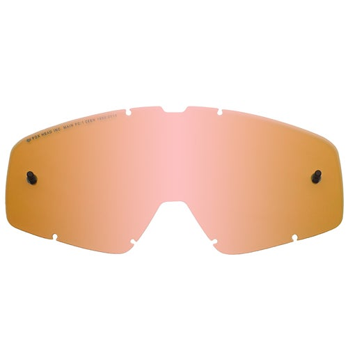 Fox Racing Main Motocross Goggle Lense - Orange