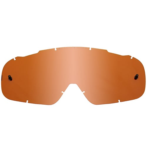 Fox Racing Air Space Coloured Motocross Goggle Lense - Contrast Orange
