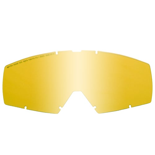 Fox Racing Main YOUTH Motocross Goggle Lense - Yellow