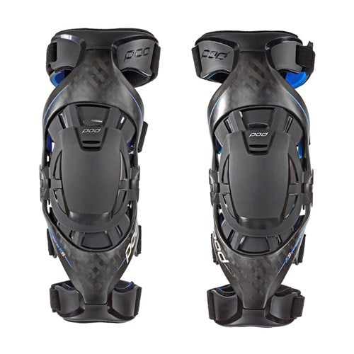 POD K8 Ultimate Carbon Pair MX Knee Brace - Black