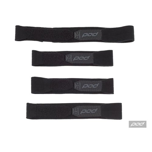 POD Pod KX Strap Set Medium Large Brace Spares - Black Grey