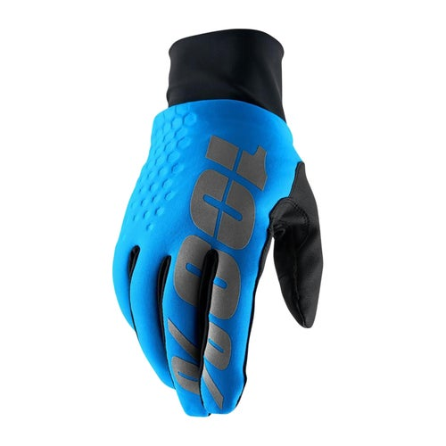 100 Percent Hydromatic Brisker MX Glove - Blue