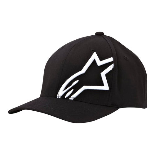 Alpinestars Corp Shift 2 Flexfit , Cap - Black White