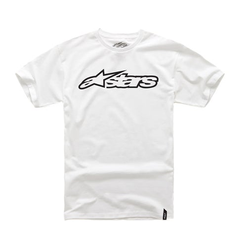 Alpinestars Blaze Short Sleeve T-Shirt - White Black
