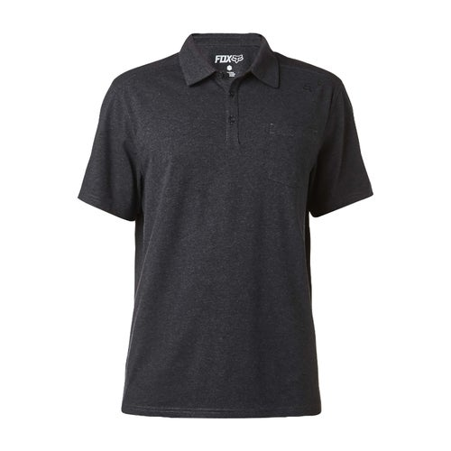 Fox Racing Legacy Polo Shirt - Heather Black