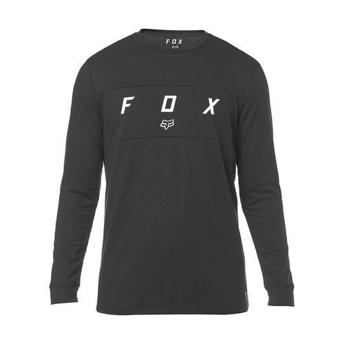 Fox Racing Slyder Knit T-Shirt Lange Mouwen - Blk