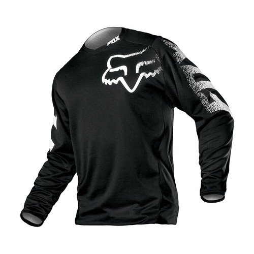 Fox Racing Blackout Enduro Boys Motocross Jerseys - Black