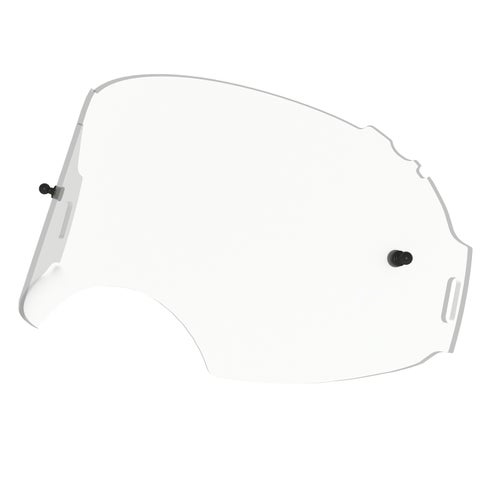 Ecran de masque MX Oakley Airbrake - Clear Replacement Lens