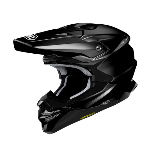 Shoei VFXWR Enduro and Motocross Helmet - Black