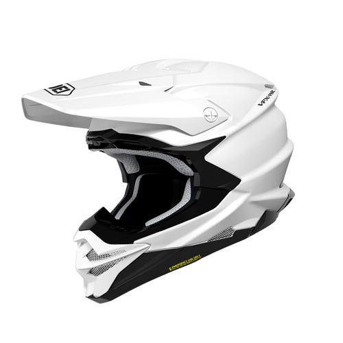 Shoei VFXWR Enduro and Motocross Helmet - White