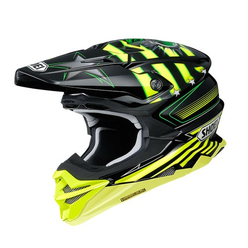 Shoei VFXWR Enduro and Motocross Helmet - Grant TC3