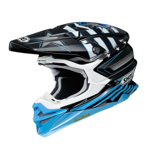 Shoei VFXWR Enduro and Motocross Helmet - Grant TC2