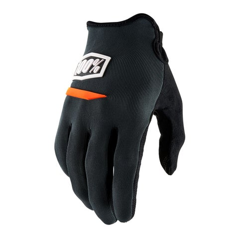 100 Percent Ridecamp Motocross Gloves - Black
