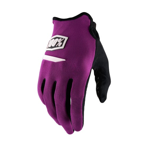 100 Percent Ridecamp Motocross Gloves - Purple
