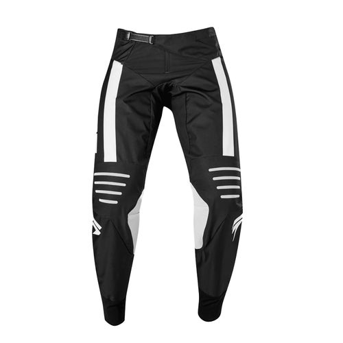 Shift 3Lack Strike Motocross Pants - Blk/wht