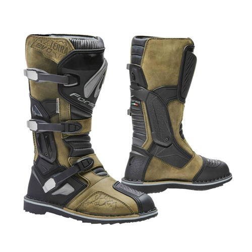 Forma Terra Evo Adventure Motocross Boots - Brown