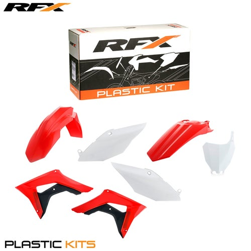 RFX Plastic Kit Honda OEM CRF450 17 Plastic Kit - 18 (6 Pc Kit) w Airbox Covers