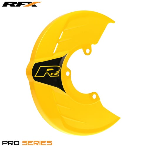 RFX Pro Series Universal Disc Guard Brake Disc Guard - Yellow