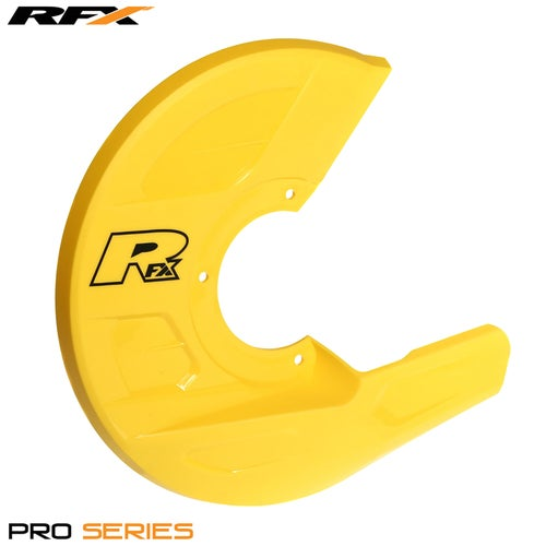 RFX Pro Series Universal Disc and Caliper Guard Brake Disc Guard - Yellow