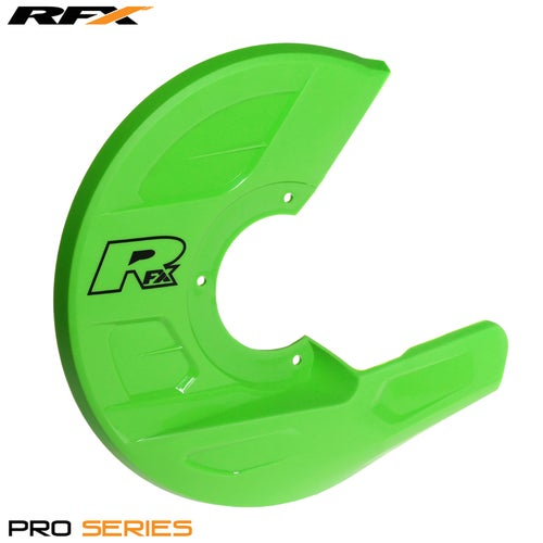 RFX Pro Series Universal Disc and Caliper Guard Brake Disc Guard - Green
