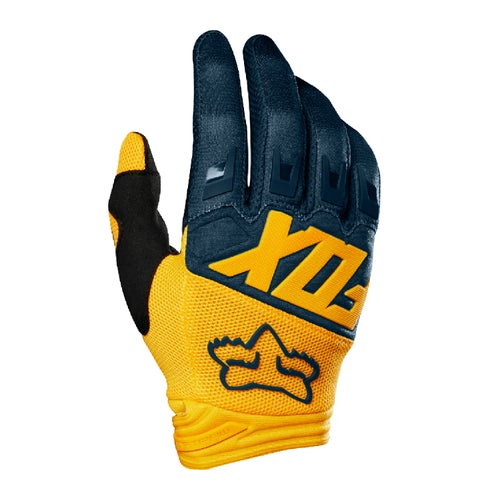 Fox Racing Dirtpaw Bike Gloves - Nvy/ylw