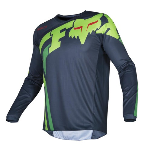 Fox Racing 180 Cota Motocross Jerseys - Nvy